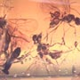 Rare Swarm Of Male Ants In Dominican Amber